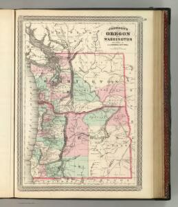 Oregon and Washington.