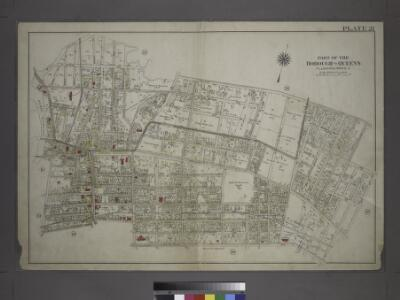 [Plate 21: Bounded by (Mill Creek) Bayside Avenue, Congress Avenue, Myrtle Avenue, Whitestone Avenue, Bayside Avenue, 16th Street, Mitchell Avenue, 19th Street, Broadway, 18th Street, Sanford Avenue, Union Street, Madison Avenue, Main Street, Bradford Av