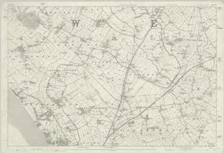 Lancashire XCIX - OS Six-Inch Map