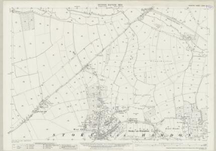 Somerset LXXXII.10 (includes: Martock; Stoke Sub Hamdon; Tintinhull) - 25 Inch Map