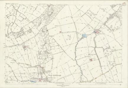 Shropshire LXXII.2 (includes: Clee St Margaret; Stoke St Milborough) - 25 Inch Map