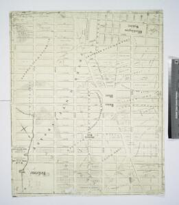 Map showing the old farms : from 4th to 28th Street, east of 6th Avenue, New York / compiled from authentic documents by Edwin Smith, city surveyor, 1831.