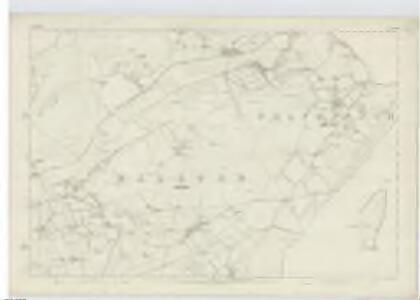 Lanarkshire, Sheet XXVII (with inset of sheet XXVIII) - OS 6 Inch map