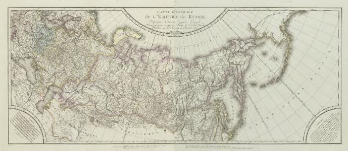 Carte générale de l'Empire de Russie