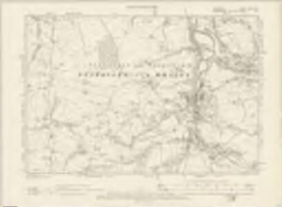 Cheshire XXIX.NE - OS Six-Inch Map