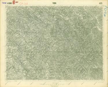 III. vojenské mapování 4370