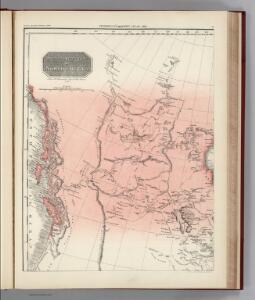 Facsimile:  Pinkerton's British Possessions in North America (portion).