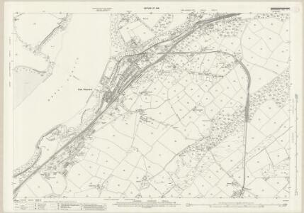 Caernarvonshire XI.6 (includes: Llanddaniel Fab; Llanddeiniolen; Llanfair Is Gaer; Pentir) - 25 Inch Map