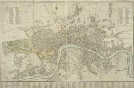 CARY'S New and Accurate Plan of LONDON, WESTMINSTER, the Borough of SOUTHWARK and parts adjacent