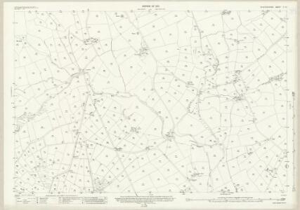 Staffordshire V.10 (includes: Fawfieldhead; Sheen) - 25 Inch Map