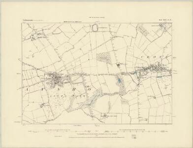 Northamptonshire LXII.SW - OS Six-Inch Map