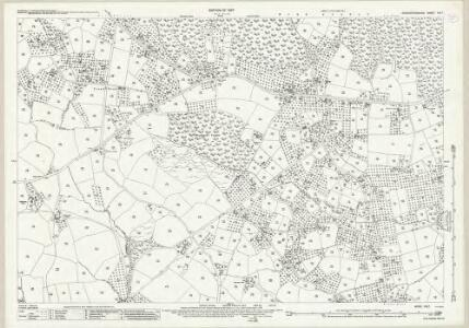 Worcestershire XIII.7 (includes: Bewdley; Rock) - 25 Inch Map