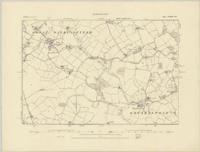 Suffolk LXXII.NE - OS Six-Inch Map
