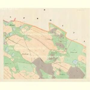 Ober Wolleschna (Zawisna Wollessna) - m0809-1-002 - Kaiserpflichtexemplar der Landkarten des stabilen Katasters