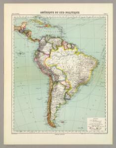 Amerique de Sud Politique.