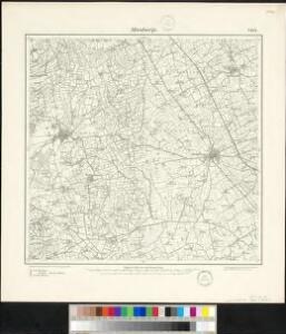 Meßtischblatt 2142 : Altenberge, 1897