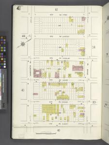Queens V. 2, Plate No. 41 [Map bounded by 16th Ave., Grand Ave., 11th Ave., Vandeventer Ave.]