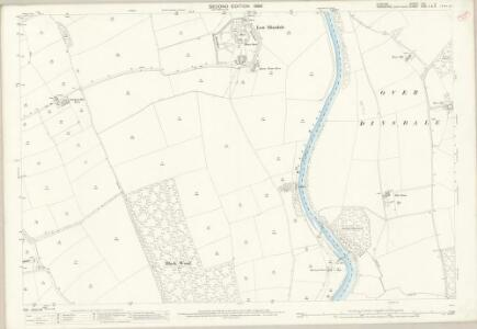 Durham LVII.4 (includes: Girsby; Low Dinsdale; Neasham; Over Dinsdale) - 25 Inch Map