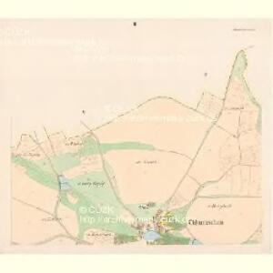 Chlumtschan (Chlumczan) - c2521-1-002 - Kaiserpflichtexemplar der Landkarten des stabilen Katasters