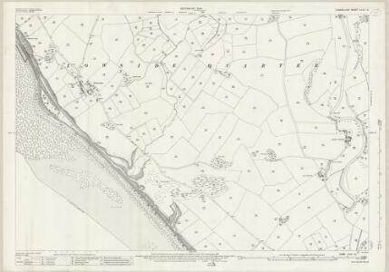 Cumberland LXXII.15 (includes: Beckermet St John) - 25 Inch Map
