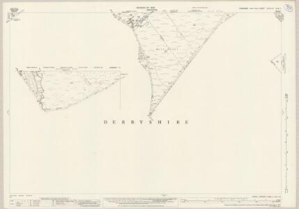 Yorkshire CCXCVIIIA.12 (inset CCXCVIIIA.11) (includes: Eyam Woodlands; Eyam; Hathersage; Highlow; Holmesfield; Nether Padley; Sheffield) - 25 Inch Map
