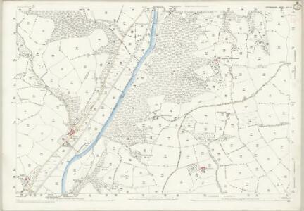 Devon XLV.15 (includes: Bickleigh; Butterleigh; Halberton; Silverton; Tiverton) - 25 Inch Map