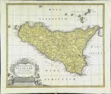 Regni & insvlae Siciliae tabula geographica