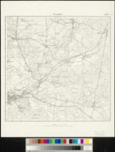 Meßtischblatt 2847 : Templin, 1932