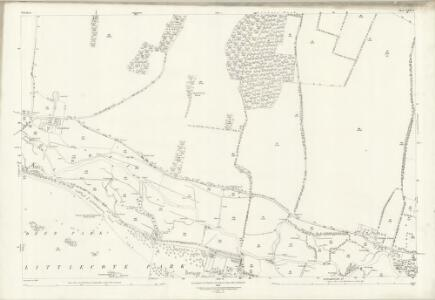 Wiltshire XXX.6 (includes: Chilton Foliat; Ramsbury) - 25 Inch Map