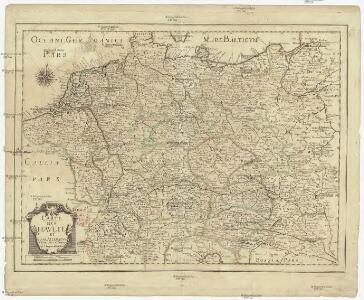 Carte des Havlte et Basse Allemagne