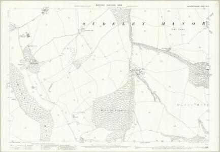 Gloucestershire XX.15 (includes: Sudeley; Winchcombe) - 25 Inch Map