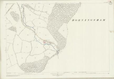 Somerset XLIII.15 (includes: Horningsham; Maiden Bradley With Yarnfield; Selwood; Trudoxhill) - 25 Inch Map