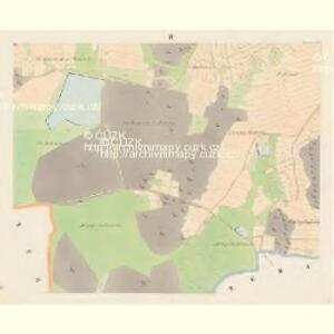 Drösowitz - c7494-1-004 - Kaiserpflichtexemplar der Landkarten des stabilen Katasters