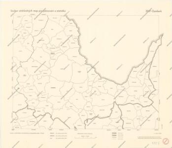 Soubor přehledných map pro plánování a statistiku: 3957 – Žamberk