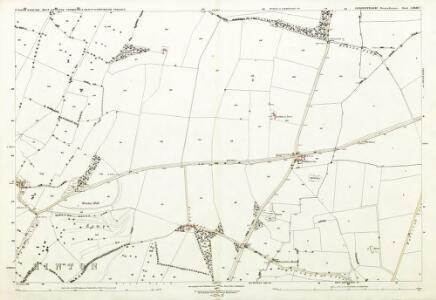Gloucestershire LXXIII.7 (includes: Dodington; Dyrham and Hinton; Tormarton) - 25 Inch Map