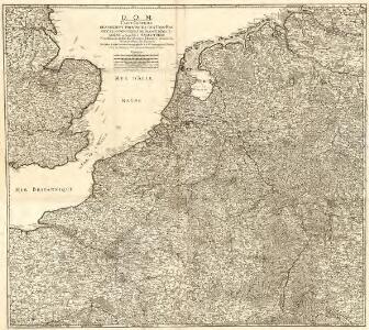 Carte Angleterre Pays Bas.D O M Carte Generale Des Dixsept Provinces Des Pays Bas