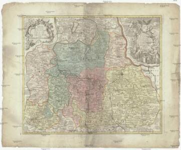 Marchionatus Lusatiae inferioris Bohemiae olim regno jam elect. Saxoniae subject. in circulos, dynastias et praefect. accuratissime distinctus