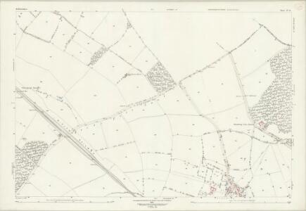 Bedfordshire IV.13 (includes: Knotting and Souldrop; Newton Bromswold; Podington; Rushden; Wymington) - 25 Inch Map