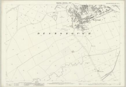 Northamptonshire XXIV.3 (includes: Desborough; Rothwell) - 25 Inch Map