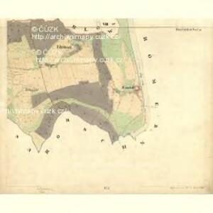 Tweras - c7609-1-009 - Kaiserpflichtexemplar der Landkarten des stabilen Katasters