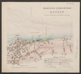 Geologischer Übersichtsplan von Horgen