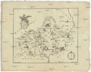 Kleine Land Karte des Marggrafthum Mähren für die Jugend in Bilden entworfen
