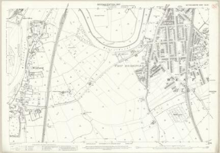 Nottinghamshire XLII.10 (includes: Nottingham; West Bridgford) - 25 Inch Map