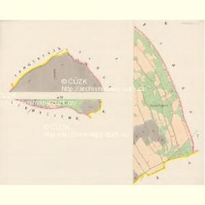 Stary Ehrenberg - c7264-2-002 - Kaiserpflichtexemplar der Landkarten des stabilen Katasters