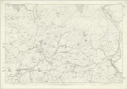 Westmorland XXXIV - OS Six-Inch Map