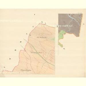Teinitz (Tinec) - m3185-1-001 - Kaiserpflichtexemplar der Landkarten des stabilen Katasters