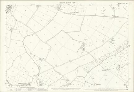 Anglesey XXII.7 (includes: Llangaffo; Llangeinwen; Llanidan; Newborough) - 25 Inch Map