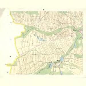 Brod - c8809-1-002 - Kaiserpflichtexemplar der Landkarten des stabilen Katasters