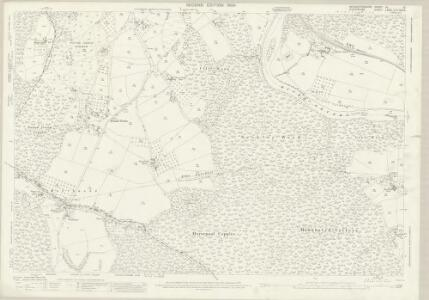 Worcestershire VII.12 (includes: Kidderminster Foreign; Kinlet; Upper Arley) - 25 Inch Map