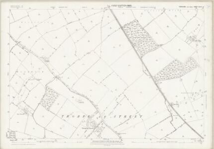Yorkshire CXCIII.12 (includes: Everingham; Hayton; Londesborough; Shipton Thorpe) - 25 Inch Map